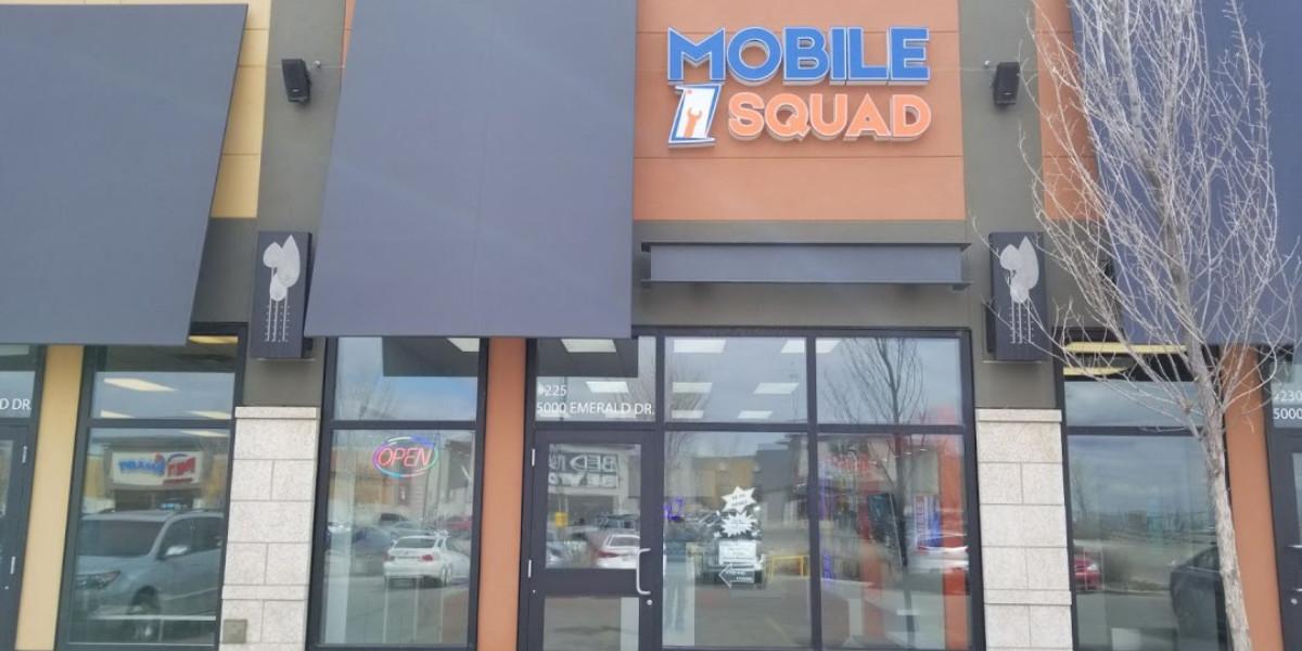 Sherwood Park Smart Phone Repair Store | Mobile Squad